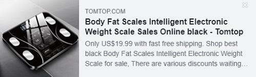 체지방계 지능형 전자 체중계 가격 : $ 19.99